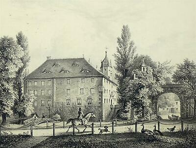 ZSCHORNA- Poenicke - Lithographie 1856