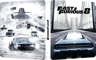 FAST AND FURIOUS 8 - EDIZIONE STEELBOOK (BLU-RAY) Vin Diesel