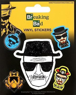 Breaking Bad Aufkleber Set / Vinyl Sticker Bundle # 1 Heisenberg