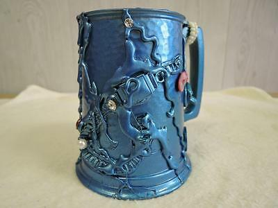 Pirate Upcycled Decorated Dimpled Tankard