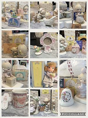 Gorgeous Huge Precious Moments Lot, 24 Pieces Vintage & Rare