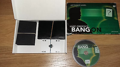 Bang On by Marc Oberon - Superb Pro Mentalism Card Effect - Original Version!