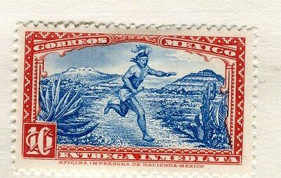 MEXICO;  1930s early Official issue fine Mint hinged 10c. value