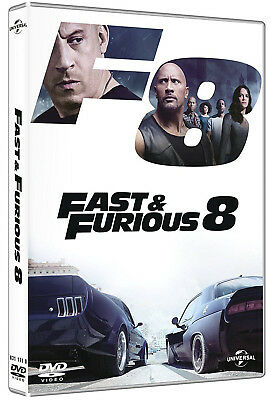 FAST AND FURIOUS 8 (DVD) Dwayne Johnson, Vin Diesel, Charlize Theron