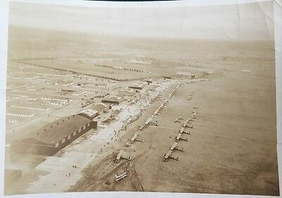 Orig 1923 Mitchell & Meadow Park Field, Curtiss Airport - Garden City, Ny Photo