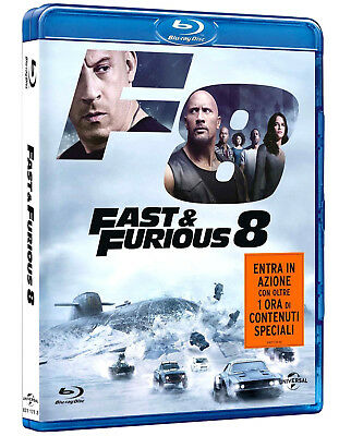 FAST AND FURIOUS 8 (Blu-ray) Vin Diesel Consegna 23 Agosto