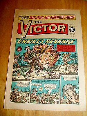 Ulster Division  In Belgium  O'neill  V.c. Ww1 Cover Story  Victor Comic 3/3/73