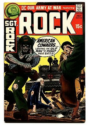 OUR ARMY AT WAR #234 1971-DC-SGT ROCK'S joe kubert -vf/NM