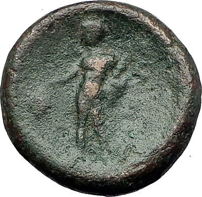 Maroneia in Thrace 148BC Authentic Ancient Greek Coin Dionysus Wine God i60865