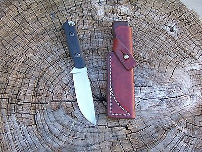 Bark River Knife & Tool Bravo Necker LF Custom Leather Bushcraft Sheath