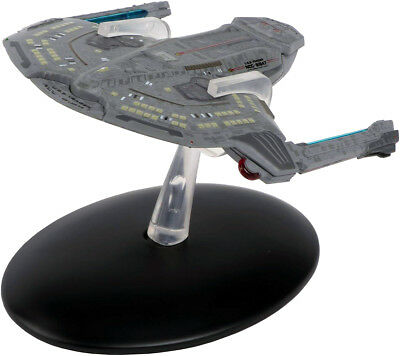 #56 Star Trek Saber Class  Die Cast Metal Ship-UK/Eaglemoss w Mag
