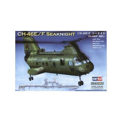 "1/72  American CH-46E ""sea knight"" Model Kit Hobby Boss 87223 free shipping"