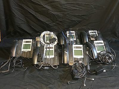 Lot of 7 Packet8 6755i VoIP Office Business Phone - Complete W/Handset