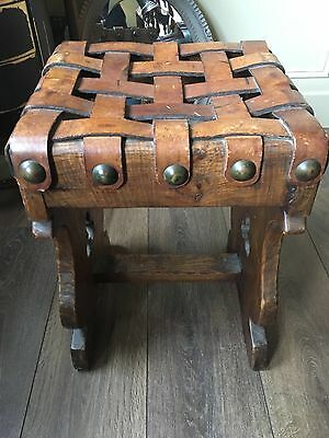 Vintage/ Antique Oak Stool