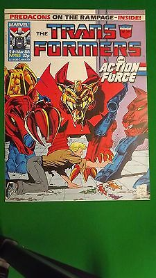 Marvel The Transformers comic UK Weekly #155 Mar 5th 1988 NM, Unread