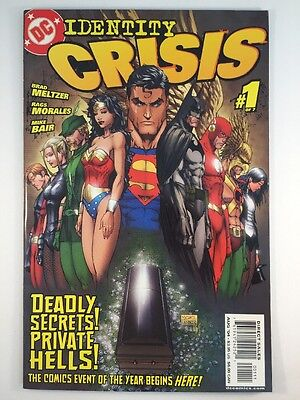 Indentity Crisis #1 (Aug 2004, DC)