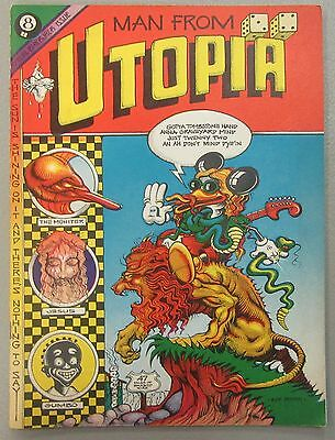 Rick Griffin's Man From Utopia 1970 Calitho Inc Comics