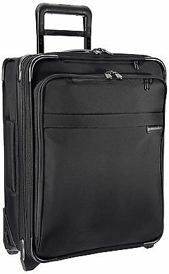 Briggs & Riley U121CXW-4 Baseline International Carry-On Wide Upright Suitcas...