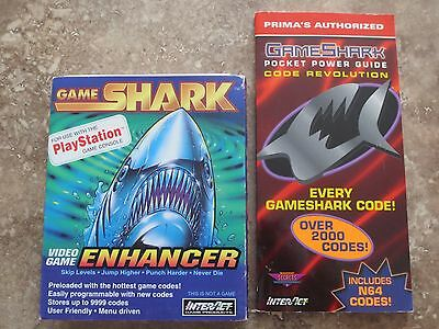 Gameshark Video Game Enhancer for Sony PlayStation 1 PS1 PSX SV-1104 Interact