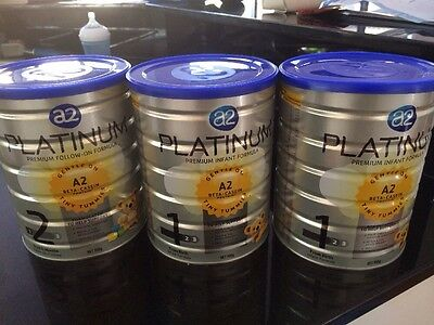 3 Cans A2 Platinum - 2 X No 1 And 1 X No 2