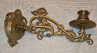 Antique/vintage Art Nouveau Piano Candle Sconce