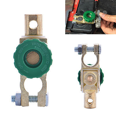 Universal Battery Terminal Link Switch Kill Cut-off Disconnect Car Truck Parts^