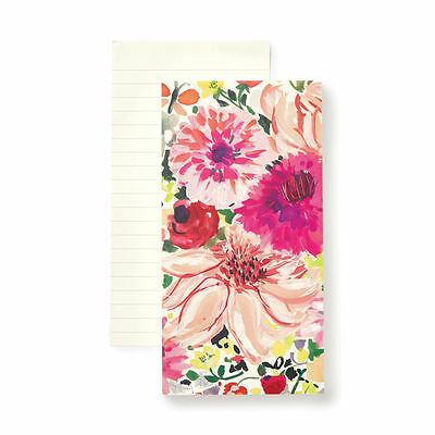 Nwt Kate Spade Large Notepad Dahlia Floral