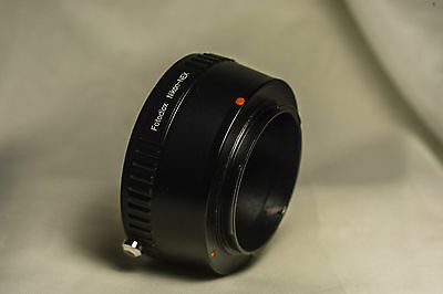 Fotodiox Lens Mount Adapter, Nikon F Lens to Sony NEX E-mount Mirrorless Camera