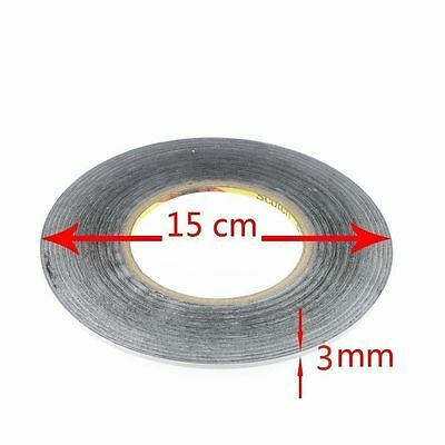 USA New 3M Sticker Tape 3MM Double Side Adhesive for Cellphone Touch Screen LCD