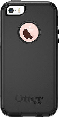Otterbox Commuter Case Dual Layer Protection Hybrid Black Cover for iPhone SE