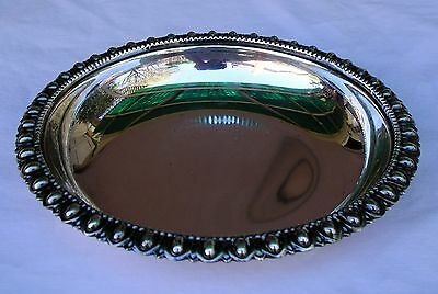 Vintage ROBERT ANSTEAD HAND MADE Sterling Silver Candy ? Bowl Dish Collectible