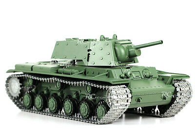 1/16 Scale Full Function Heng Long Russian KV-1 Radio Control Air Soft Battle Ta