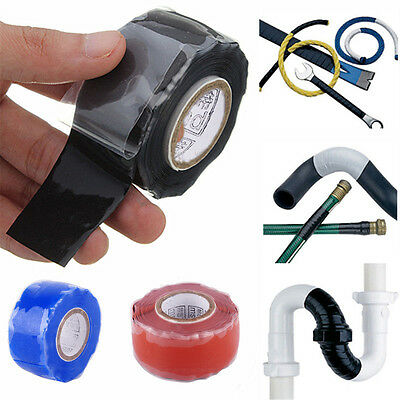 Silicone Repair Tape Waterproof Rescue Bonding Self-Fusing Seal Wire Hose Sport