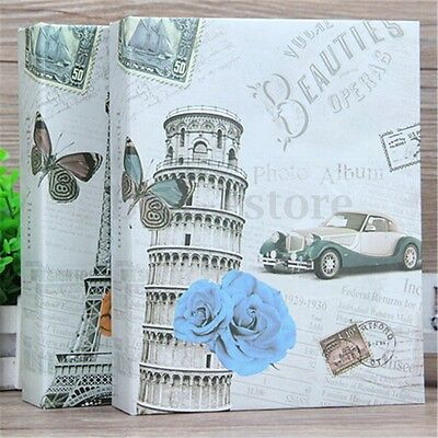 200 Photos Tower Photo Album Leaning Storage Case Film Family Wedding Memories