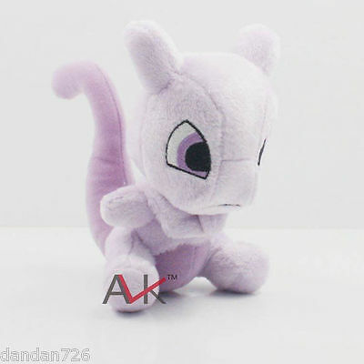 "6"" 15CM Mewtwo Pokemon Cute Soft Plush Toy Doll Kids Gift New DDD"