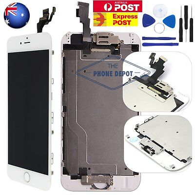 "iPhone 6 Plus 5.5"" LCD Display Touch Screen Home Button Cam Digitizer Assembly"