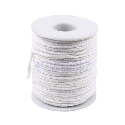 Spool of Cotton Square Braid Candle Wicks Wick Core Candle Making Supplies EW