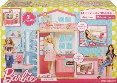 NEW Barbie 2 Storey House from Mr Toys
