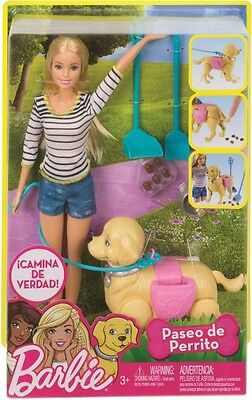 NEW Barbie Walk and Potty Puppy from Mr Toys