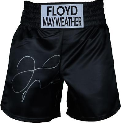 Floyd Mayweather Autographed Boxing Trunks Fanatics Authentic Certified