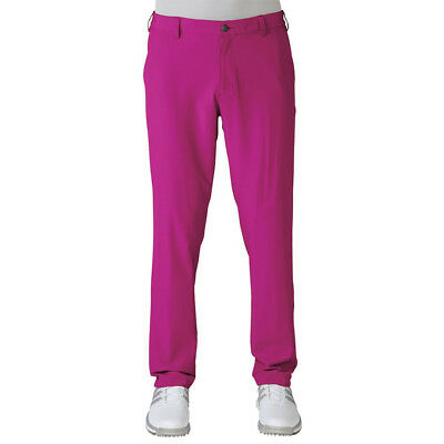 adidas ClimaLite Tech Mens Golfing Pants Trousers  - Pink