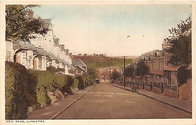 POSTCARD    SOMERSET   ILMINSTER    New   Road
