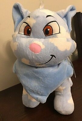 "Neopets Wocky Cat Plush Blue Cloud 2008 Jaaks Pacific 11"" Stuffed Animal"
