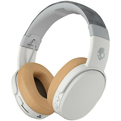 SKULLCANDY CRUSHER Wireless, Over-ear Kopfhörer, Headsetfunktion, Bluetooth, Wei