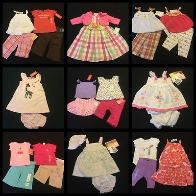 Gymboree Gap 28pc ALL New NWTs Baby Girl Spring Summer Clothing Lot 12-18 Months