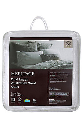 NEW Heritage Dual Layer Wool Quilt