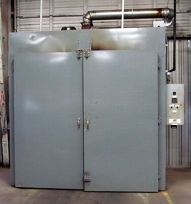 8' x 8' x 20' Industrial Batch Oven - Gas