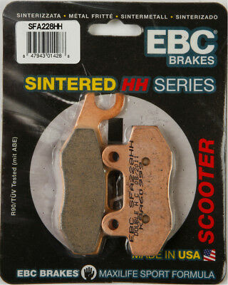 EBC SFA HH Sintered Scooter Brake Pads Front Left Single Set For KYMCO SFA228HH