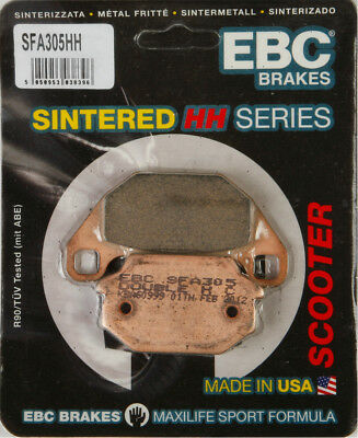 EBC SFA HH Sintered Scooter Front Brake Pads Single Set For KYMCO SYM SFA305HH