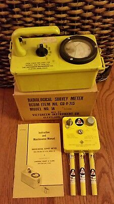 Civil Defense Radiation Detector Cdv-715